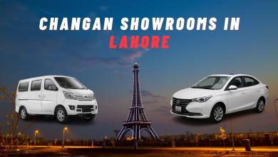 Changan Showrooms List in Lahore