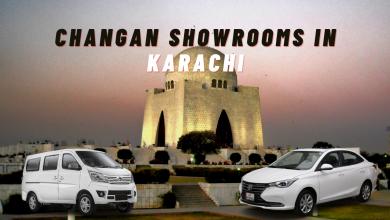 Changan showrooms list in Karachi