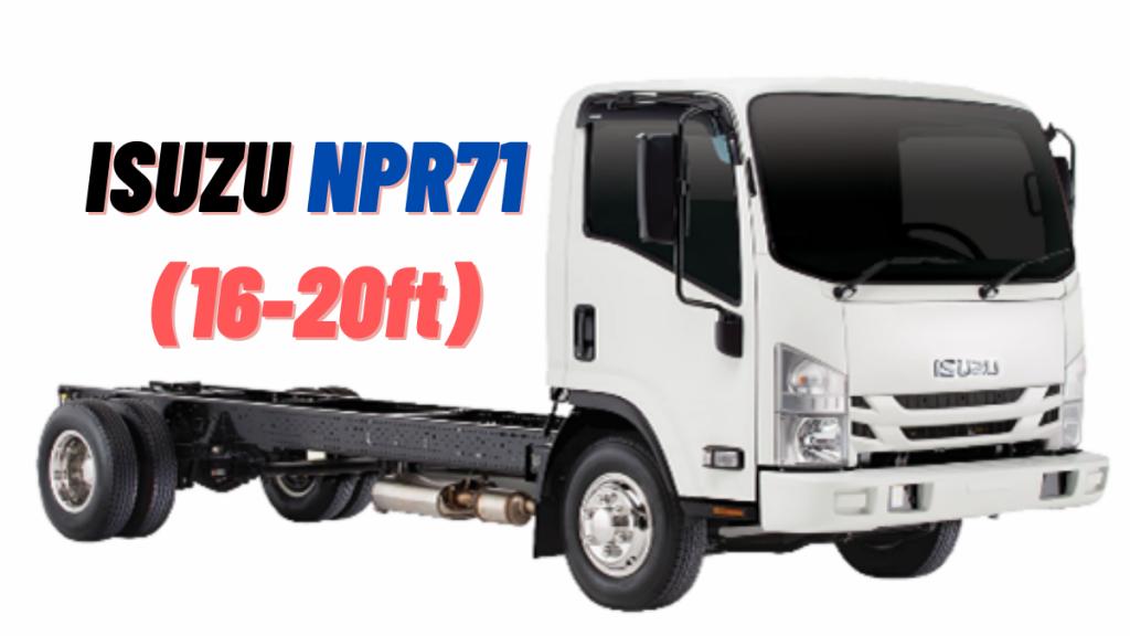 ISUZU NPR71 Price and Specifications in Pakistan 2021
