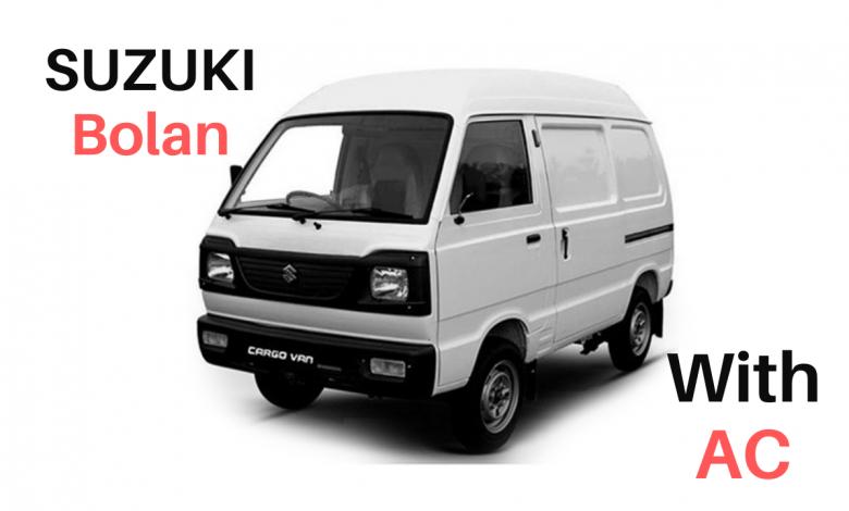 SUZUKI BOLAN AC MODEL NEW